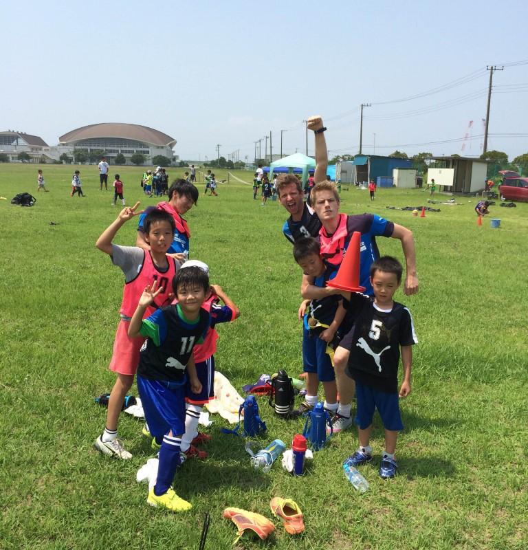 英語×サッカーキャンプ 参加者アンケート