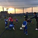 【英語サッカースクール】~ボールタッチフィーリング~