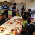 【英語×サッカーキャンプ】第2回Summerキャンプ/2016 Vol.9 朝ごはん+スポーツミーティング