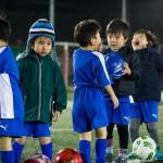 英語×サッカースクール 年月を重ねたbefore after