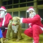 【英語×サッカーキャンプ】Winter Camp/2016 Vol.7 サンタがキャンプにやってきた!~クリスマス会&英語カルタ大会~