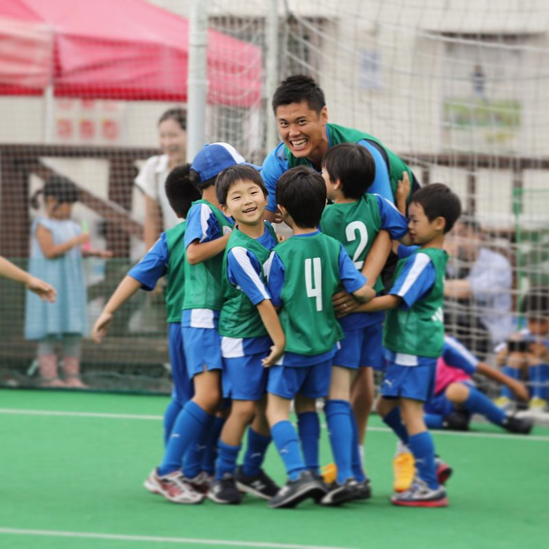 CLILで行う川島永嗣のサッカースクール