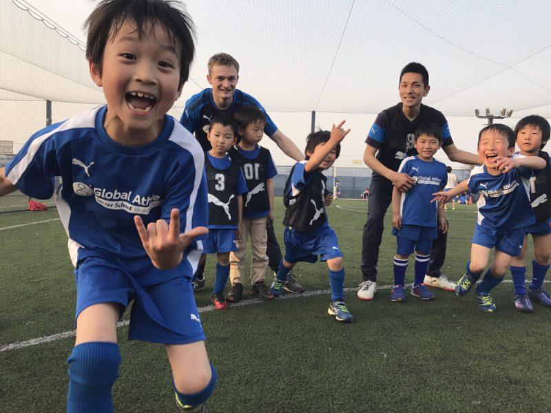 元気が一番。生き生きと楽しめるサッカースクール