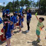 【GA英語サマーキャンプ vol 7】〜2日目サッカー&チア  快晴☀️🤩〜