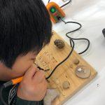 【GA英語ウィンターキャンプ Vol.8】 木工体験、驚異の集中力‼️‼️‼️