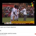As I depart from Accra Hearts of Oak in Ghana Premier League. ガーナプレミアリーグのアクラハーツオブオークを離れるにあたって