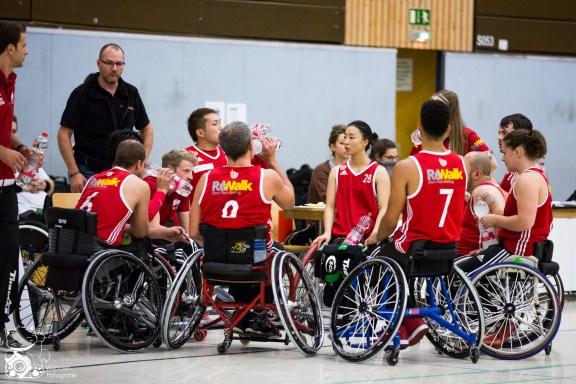 Kick Off Turnier 2016 Finale: Wiesbaden - Köln 99ers I Foto: Steffie Wunderl