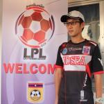 サッカー指導者の松田裕貴です